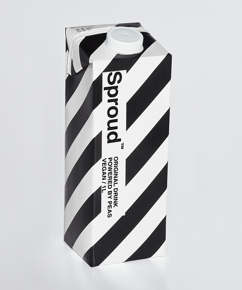 Sproud packaging front
